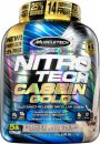 MuscleTech NitroTech Casein Gold Protein Powder, Sustained-Release Micellar Casein