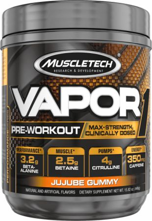 Vapor One Jujube Gummy 20 Servings - Pre-Workout Supplements MuscleTech