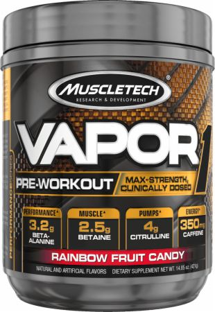 Vapor One Rainbow Fruit Candy 20 Servings - Pre-Workout Supplements MuscleTech