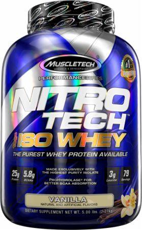MuscleTech NITRO-TECH 100% Iso Whey