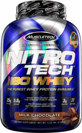 Nitro-Tech Whey Protein Isolate