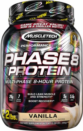 Image of Phase8 Protein Vanilla 2.2 Lbs. - Protein Powder MuscleTech