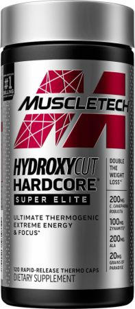 Hydroxycut Hardcore Super Elite Thermogenic Fat Burner