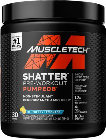 Shatter Pumped 8 Pre-Workout | Stim Free