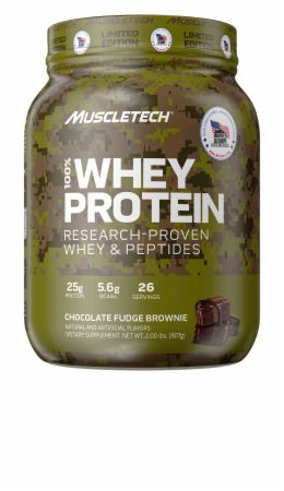 Homes For Our Troops 100% Whey Protein