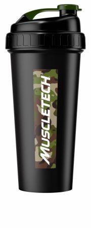 Image of Homes For Our Troops Shaker Bottle Camo 20 Oz. - Shaker Bottles MuscleTech