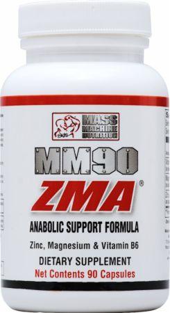Mass Machine Nutrition MM90 ZMA 90 Capsules