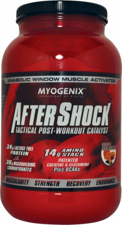 Image of AfterShock Recovery Orange Avalanche 2.64 Lbs. - Post-Workout Recovery Myogenix