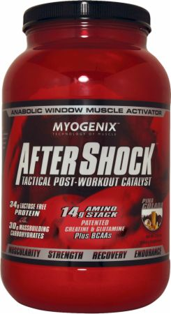 Image of AfterShock Recovery Pina Colada 2.64 Lbs. - Post-Workout Recovery Myogenix