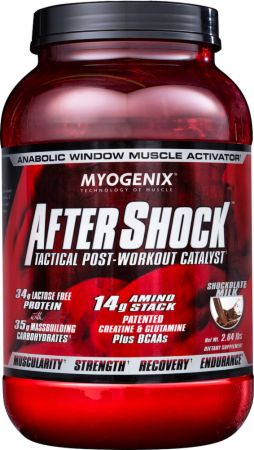Image of AfterShock Recovery Shocklate Milk 2.64 Lbs. - Post-Workout Recovery Myogenix