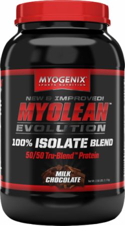 Image of Myolean Evolution Milk Chocolate 30 Servings - Protein Powder Myogenix