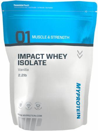 Myprotein Impact Whey Isolate Vanilla 2.2 Lbs. - Protein Powder