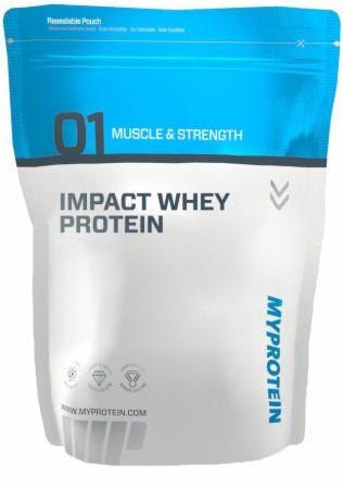 Image of MyProtein Impact Whey Protein 1 Kilogram Banana