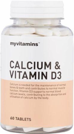 Image of MyVitamins Calcium & Vitamin D3 60 Tablets