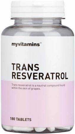 Image of MyVitamins Trans Resveratrol 180 Tablets