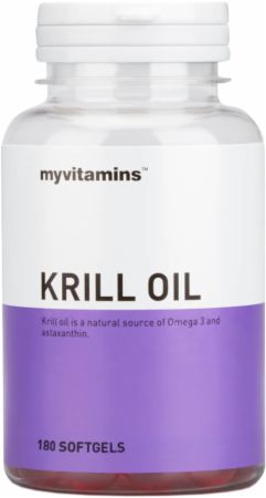 Image of MyVitamins Krill Oil 180 Softgels