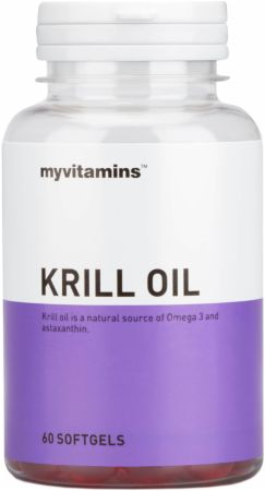 Image of MyVitamins Krill Oil 60 Softgels