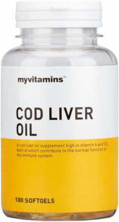 Image of MyVitamins Cod Liver Oil 180 Softgels