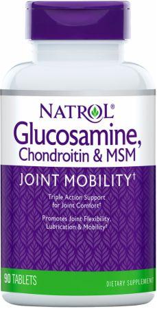 Glucosamine, Chondroitin & MSM