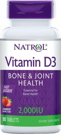 Natrol Vitamin D3 Fast Dissolve