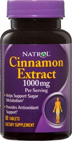 Image of Natrol Cinnamon Extract 80 Tablets