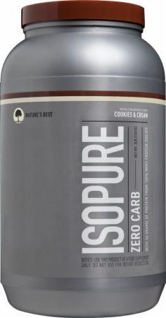 Image of Isopure Zero Carb WPI Cookies & Cream 3 Lbs. - Protein Powder Isopure
