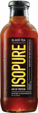Image of Isopure Tea Black Tea - Lemon 12 Bottles - Low Carb Protein Isopure