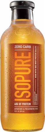 Zero Carb 40 Gram 100% Whey Protein Isolate Drink