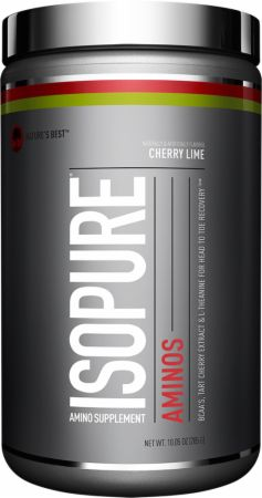 Image of Nature's Best Isopure Aminos 30 Servings Cherry Lime
