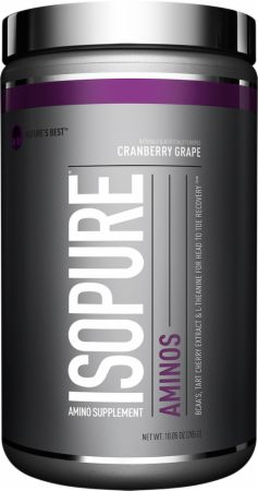 Image of Nature's Best Isopure Aminos 30 Servings Cranberry Grape