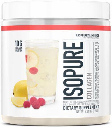 Image of Collagen Raspberry Lemonade 15 Servings - Joint Support Isopure