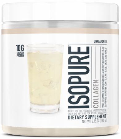 Image of Collagen Unflavored 15 Servings - Joint Support Isopure