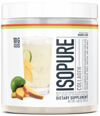 Image of Collagen Mango Lime 15 Servings - Joint Support Isopure