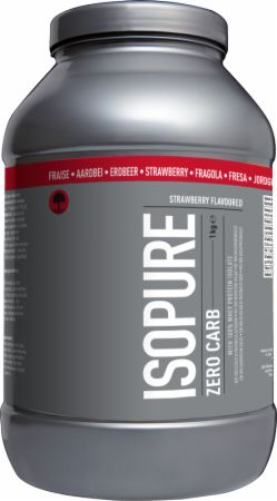 Image of Isopure Zero Carb 1 Kilogram Strawberry