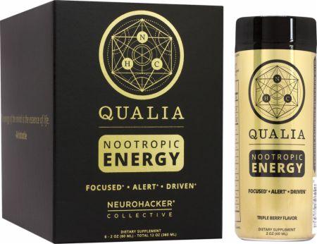 Image of Qualia Energy Shot Triple Berry 6 - 2 oz. Shots - Nootropics Neurohacker Collective