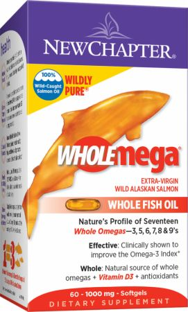 New chapter wholemega at lowest prices for Wholemega fish oil