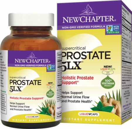 Prostate 5LX  120 Vegetarian Capsules - Prostate Health New Chapter
