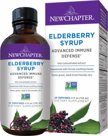 Elderberry Syrup + Honey Immune Support