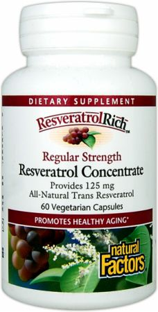 Natural Factors ResveratrolRich Resveratrol Concentrate