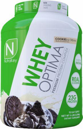 Image of Whey Optima Cookies & Cream 5 Lbs. - Protein Powder NutraKey