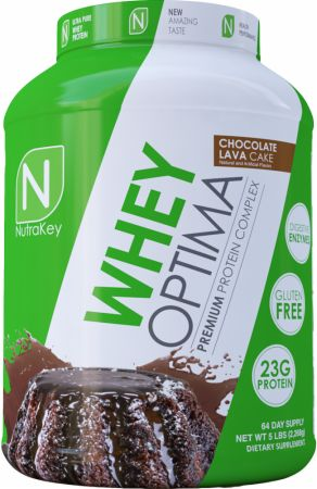 Image of Whey Optima Chocolate Lava Cake 5 Lbs. - Protein Powder NutraKey