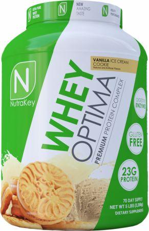 Image of Whey Optima Vanilla Ice Cream Cookie 5 Lbs. - Protein Powder NutraKey