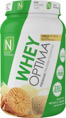 NutraKey Whey Optima Vanilla Ice Cream Cookie 2.1 Lbs. - Protein Powder