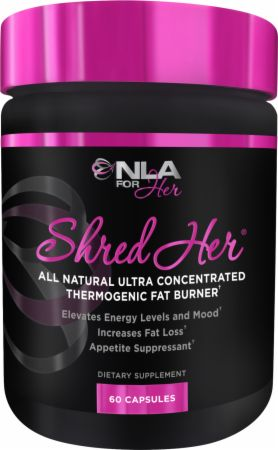 Image of Shred Her 60 Capsules - Fat Burners NLA for Her