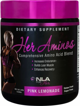 Image of NLA for Her Her Aminos 30 Servings Pink Lemonade