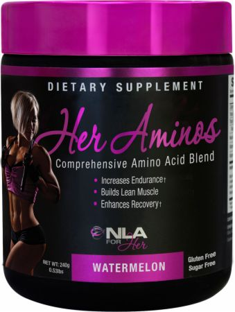 Image of NLA for Her Her Aminos 30 Servings Watermelon