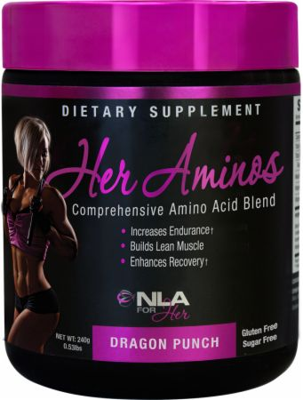 Image of Her Aminos Dragon Punch 30 Servings - Amino Acids & BCAAs NLA for Her