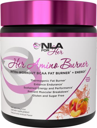 Image of Her Amino Burner Sweet Georgia Peach 30 Servings - Amino Acids + Energy NLA for Her