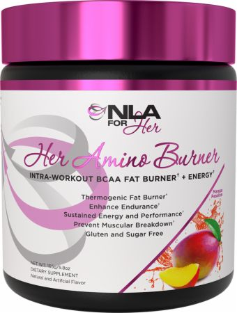 Image of Her Amino Burner Mango Passion 30 Servings - Amino Acids + Energy NLA for Her