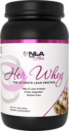 Image of Her Whey Peanut Butter Banana Split 1.9 Lbs. - Protein Powder NLA for Her